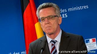 Thomas de Maiziere / Brüssel / Innenminister