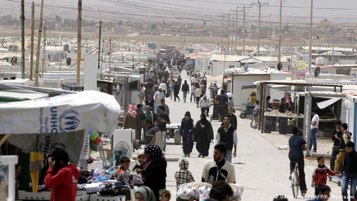 Jordanien Zaatari Flüchtlingslager (Getty Images/AFP/K. Mazraawi)