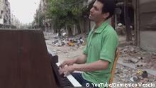 Piano Man Yarmouk Syrien Ayham Ahmad Screenshot Youtube NUR ALS BILDZITAT ZU VERWENDEN