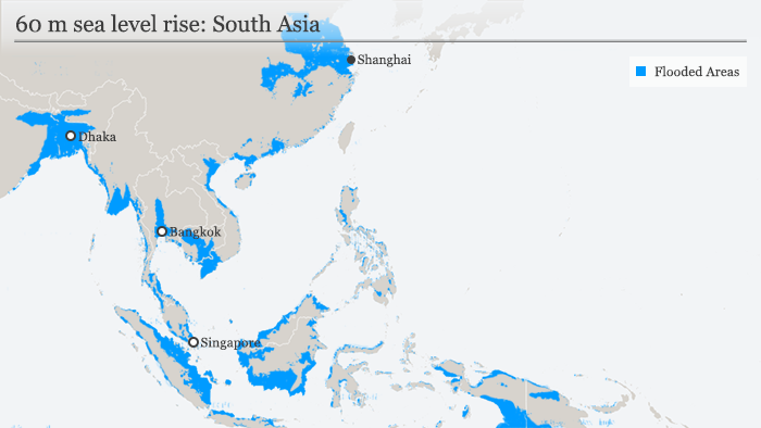 Infograpic sea-level rise South-East Asia. (Graphic: DW)