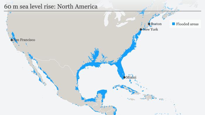 Sea Level Rise Map 2050 Worst case scenario for sea level rise: No more New York, Berlin