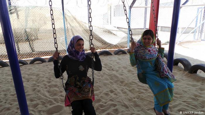 UNICEF Jordanien EINSCHRÄNKUNG