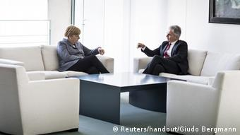 Angela Merkel and Werner Faymann