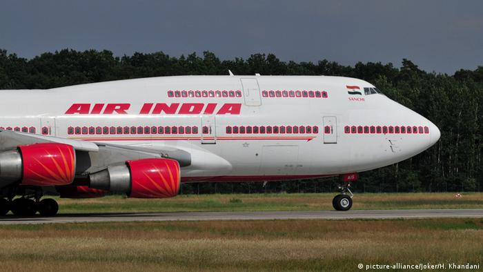 Air India Boeing B747-400 (picture-alliance/Joker/H. Khandani)