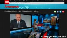 Screenshot CNN Video Ukraine Konflikt