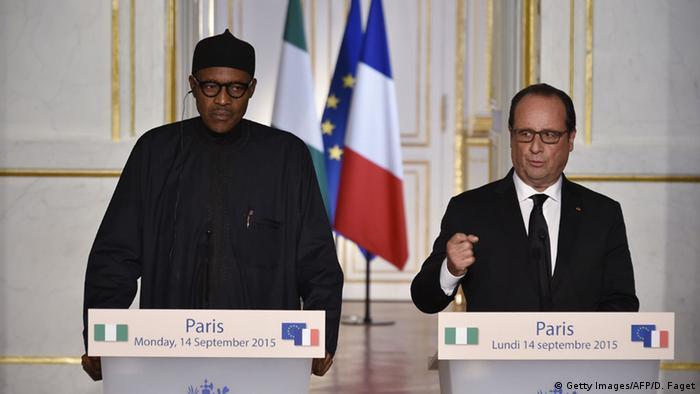 Buhari und Hollande (Foto: AFP