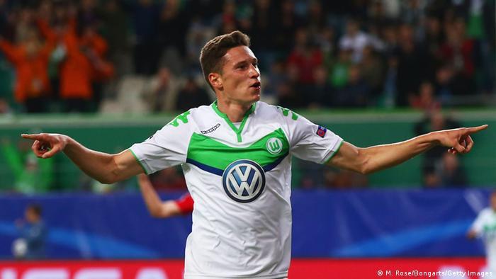 Champions League Wolfsburg gegen Moskau