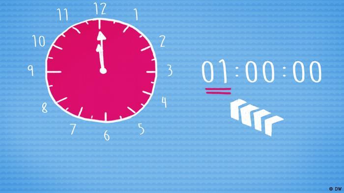 e7f70cd78 07: كم الساعة الآن؟ | خطواتي الأولى باللغة الألمانية | DW | 28.09.2015