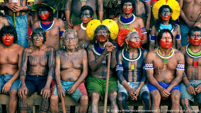 Photo: A group of Kayapó (Source: International Conservation Fund of Canada)