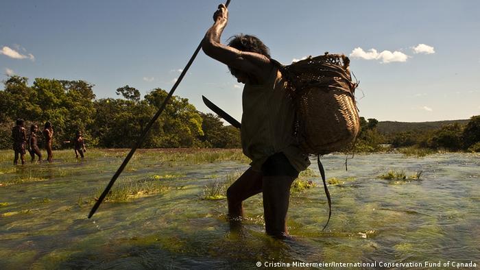 Photo: Kayapó fishing (Source: International Conservation Fund of Canada)