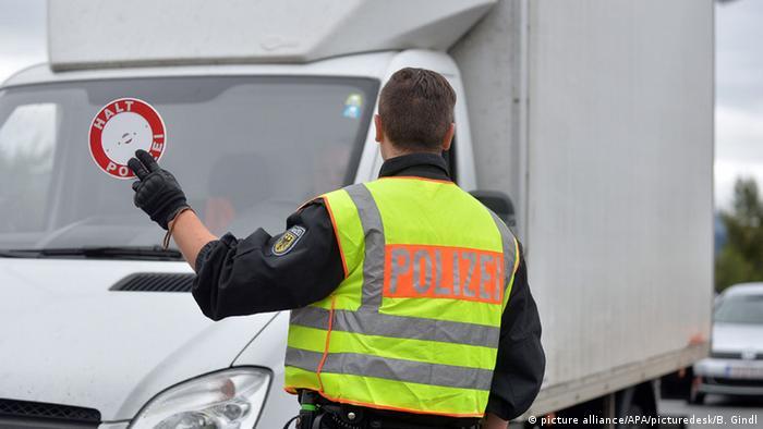 Deutschland Grenze Österreich Grenzkontrollen deutsche Polizei
