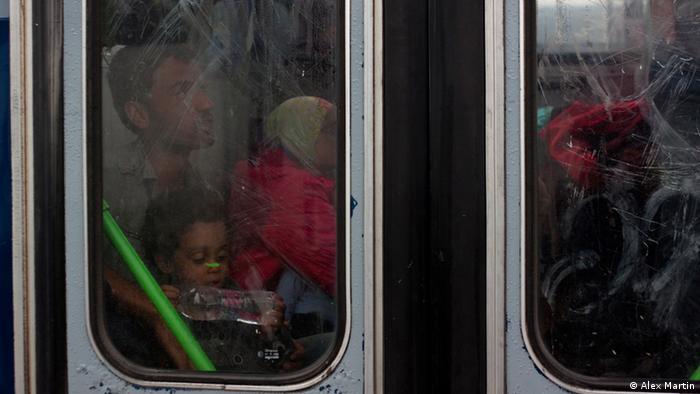 Flüchtlinge Ungarn Serbien