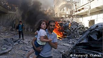 Syrien Damaskus Luftangriffe