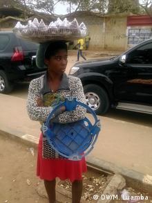 Angola Zungueiras Verkäuferinnen in Luanda