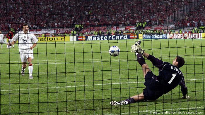 Final de la Champions League en 2005.
