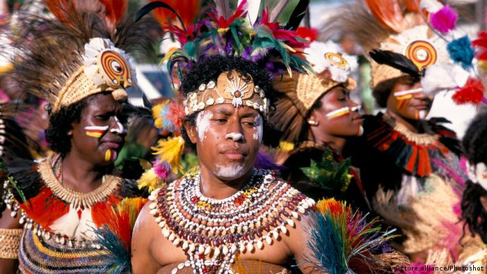 Papua Neu Guinea 40 Jahre Unabhängigkeit (picture alliance/Photoshot)
