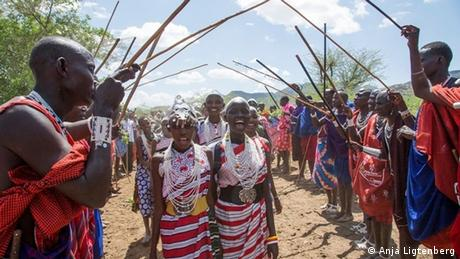 Alternative rite of passage	in Kenia