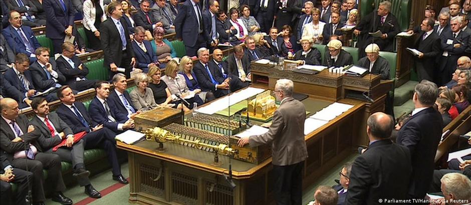London House of Commons Jeremy Corbyn Rede (Parliament TV/Handout via Reuters)