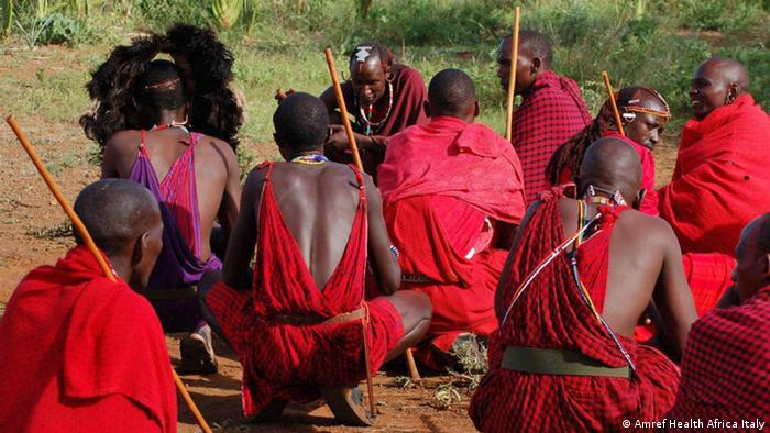 Alternative rite of passage	in Kenya