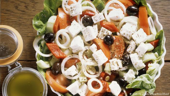 Griechischer Salat (Symbolbild)