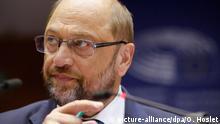 Brüssel EU Parlament Martin Schulz Debatte Flüchtlingskrise