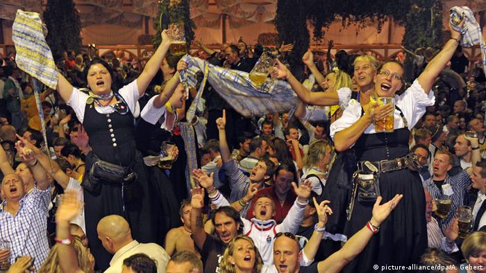 München Oktoberfest Hofbräuzelt