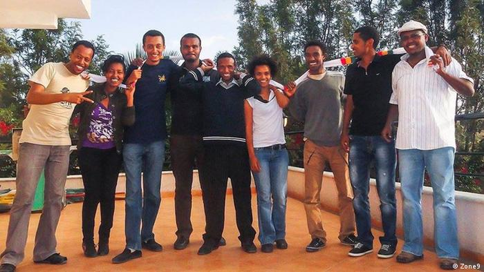 Äthiopien Zone9 Blogger Gruppe