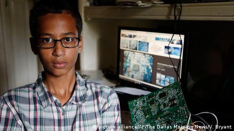 USA Muslimischer Schüler Ahmed Mohamed