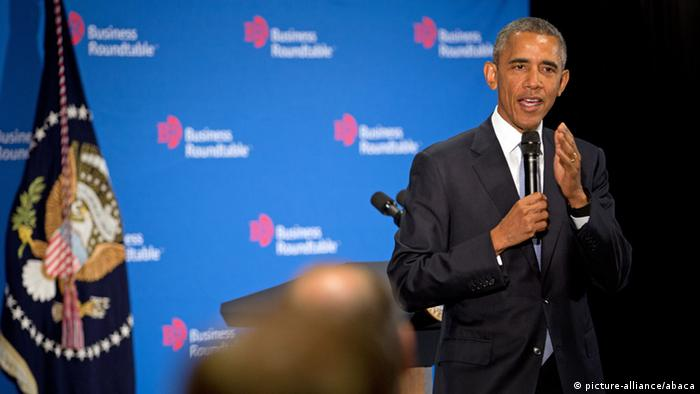 Washington Obama beim Business Roundtable
