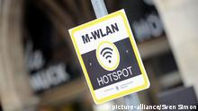 Symbolbild WLAN Wifi Hotspot mobiles Internet