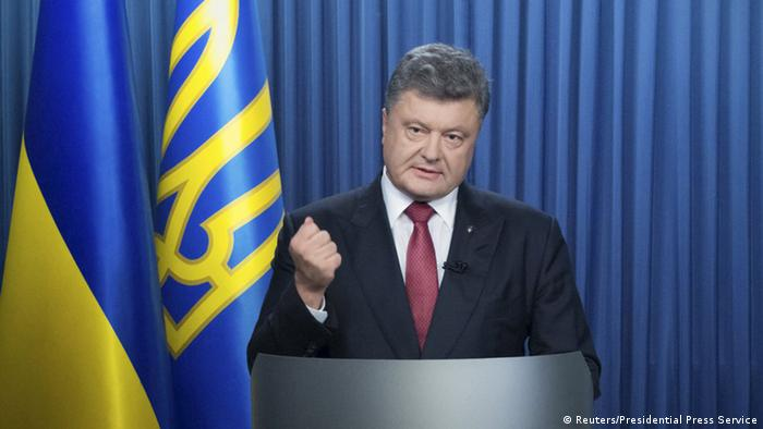 Ukraines Präsident Petro Poroschenko (foto: Reuters)