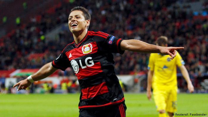 Champions League Bayer 04 Leverkusen - BATE Borissow Javier Hernandez