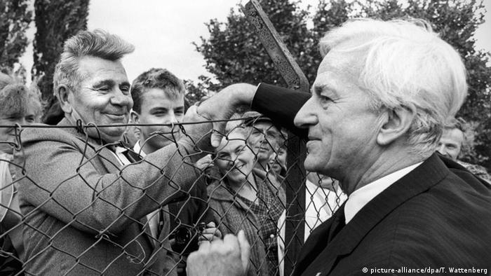 Lager Friedland Richard von Weizsäcker Aussiedler