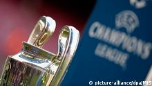 Fußball Championsleague Symbolbild Pokal