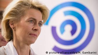 Tallinn Ursula von der Leyen NATO Cooperative Cyber Defence Centre of Excellence