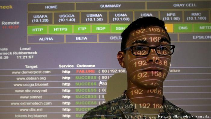 Symbobild Cyber-Abwehrzentrum