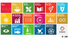 Pictogramme der sustainable development goals