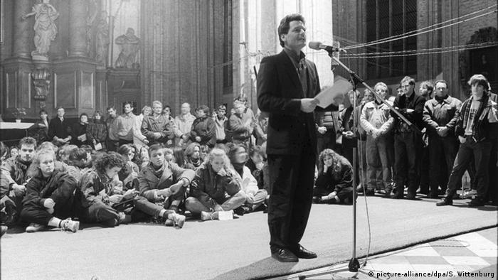 Joachim Gauck im Jahr 1989