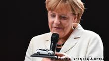 Deutschland Angela Merkel Eröffnung IAA 2015