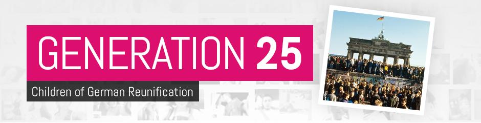 Generation 25 - Children of German Reunification