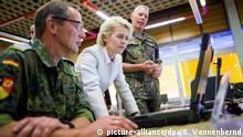 Deutschland Bundeswehr IT Bundesamt für Informationstechnik Ursula von der Leyen