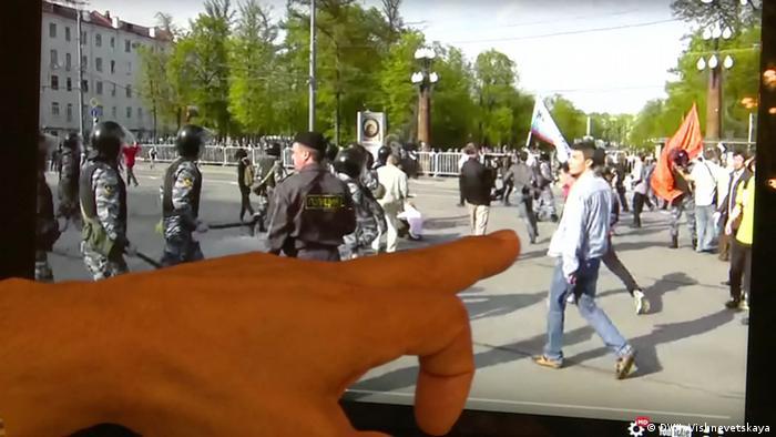 Артем Савелов на Марше миллионов