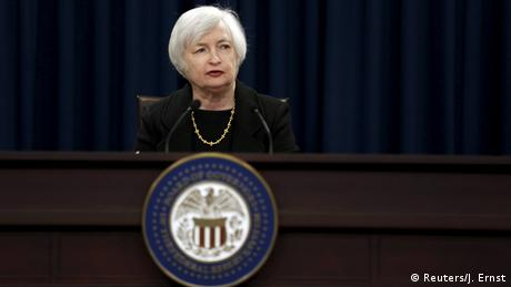 USA Zinsentscheidung der US-Notenbank Fed - Janet Yellen