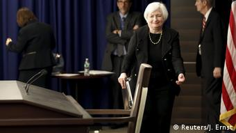Fed chairperson Janet Yellen