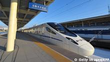 China Hochgeschwindigkeitszug in Urumqi