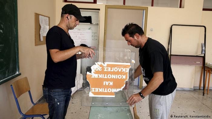 Griechenland vorgezogene Wahlen 2015