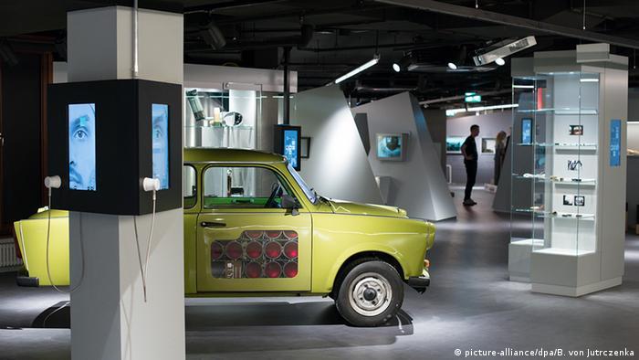 Deutschland Museum Spionagemuseum Berlin (picture-alliance/dpa/B. von Jutrczenka)