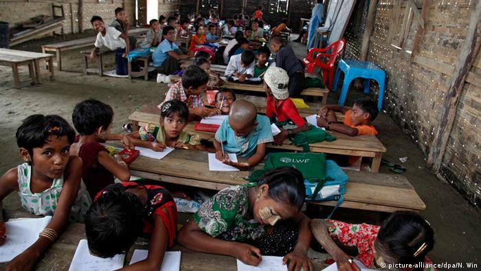 Rohingya Flüchtlinge (picture-alliance/dpa/N. Win)