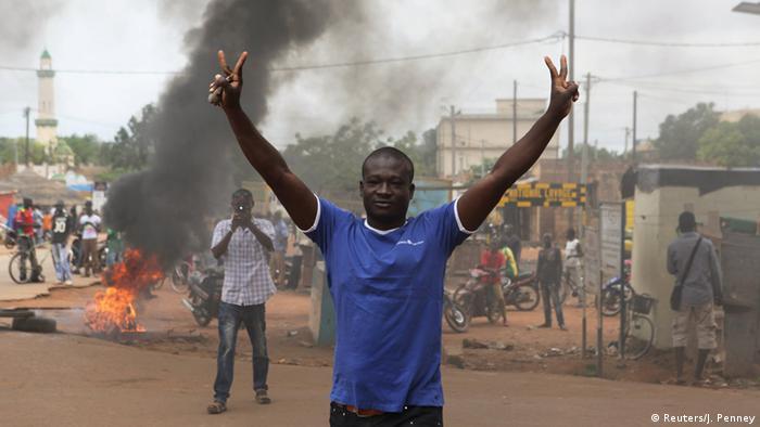 Protest against coup REUTERS/Joe Penney