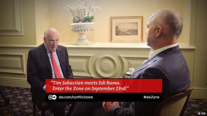 Edi Rama bei Conflict Zone